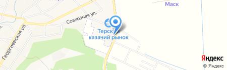 Альфа Плюс на карте Горячеводского