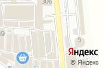 Схема проезда до компании Магазин шин и дисков в Горячеводском