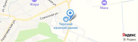 Мир Шин и Дисков на карте Горячеводского