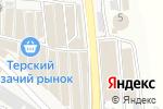Схема проезда до компании Мир Шин и Дисков в Горячеводском