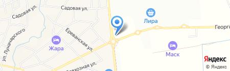ГРиС Банк на карте Горячеводского