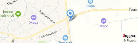 Банкомат Сбербанк России на карте Горячеводского