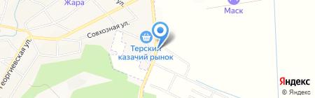 Старт на карте Горячеводского
