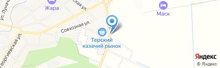 Сантехника на карте Горячеводского