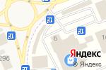 Схема проезда до компании Мир меха в Горячеводском
