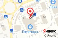 Схема проезда до компании Ситилинк в Горячеводском