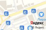Схема проезда до компании Грандъ Персона в Горячеводском