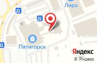 Схема проезда до компании Ломбардъ в Горячеводском