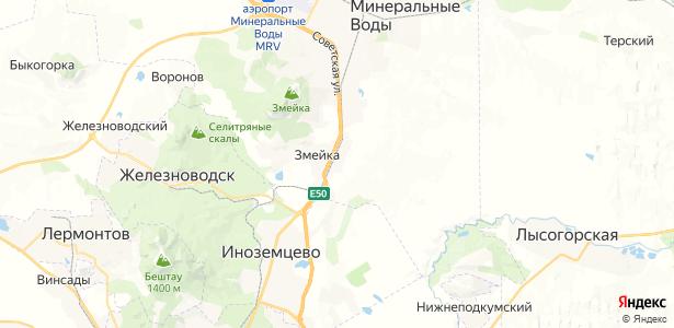 Бородыновка на карте