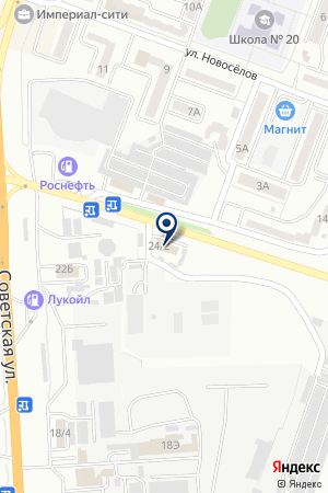 AutoVin на карте Минеральных Вод