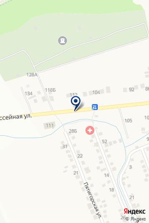 КАФЕ КОЛОС на карте Пятигорска