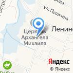 Казачок на карте Ленинского