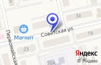 Схема проезда до компании ДЕТСКИЙ САД РЯБИНУШКА в Октябрьском