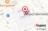 Схема проезда до компании Средняя общеобразовательная школа №7 в Константиновской