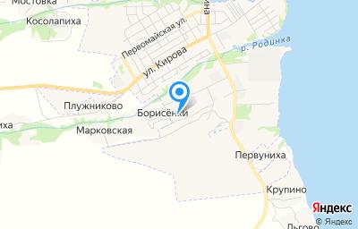 Местоположение на карте пункта техосмотра по адресу Ивановская обл, г Пучеж, ул 2-я Производственная, д 9Д