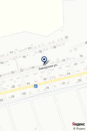 Продовольственный магазин на карте Константиновской