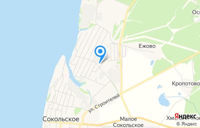 Местоположение на карте пункта техосмотра по адресу Нижегородская обл, рп Сокольское, ул Механизаторов, д 6