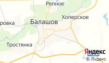Отели города Балашов на карте