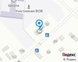 Схема местоположения почтового отделения 361702