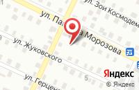 Схема проезда до компании МИХАЙЛОВСКИЙ ПЕНЬКОЗАВОД в Михайловке