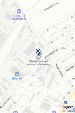ВОЛГОГРАДСКИЙ КОЛЛЕДЖ БИЗНЕСА на карте Михайловки