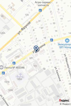 ДСУ-2 СТРОИТЕЛЬНОЕ ПРЕДПРИЯТИЕ ВОЛГОГРАДАВТОДОР на карте Михайловки