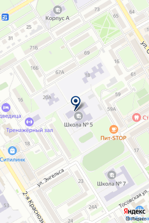 ДЕТСКАЯ ШКОЛА ИСКУССТВ № 3 на карте Михайловки