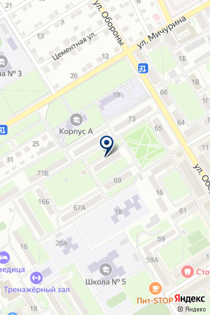 КОМИТЕТ ПО КОНТРОЛЮ ЗА ОБОРОТОМ НАРКОТИКОВ на карте Михайловки