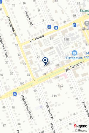 АТП МИХАЙЛОВСКОЕ на карте Михайловки