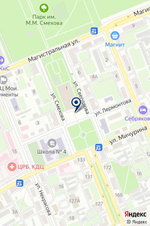 ГОРОДСКОЙ ДВОРЕЦ КУЛЬТУРЫ на карте Михайловки