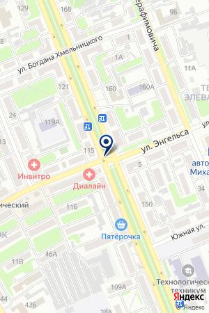 ДЕЛЬТА на карте Михайловки