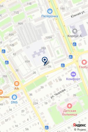 АПТЕКА № 199 на карте Михайловки
