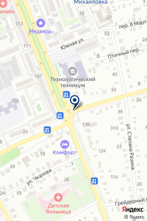 ГОРОДСКОЕ ТАКСИ 777 на карте Михайловки