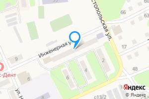 Двухкомнатная квартира в Чкаловске Нижегородская область, Инженерная улица, 4