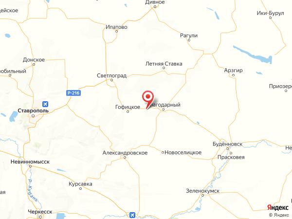 село Александрия на карте