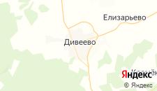 Гостиницы города Дивеево на карте