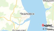 Отели города Чкаловск на карте