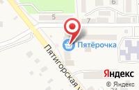 Схема проезда до компании Почтовое отделение в Пятигорском