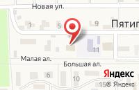 Схема проезда до компании Администрация Пятигорского сельсовета в Пятигорском