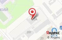 Схема проезда до компании Торговый Дом Ворсменского Завода Медицинского Оборудования в Ворсме