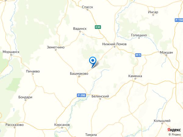 поселок при разъезде Пятницкое на карте