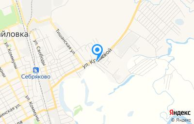 Местоположение на карте пункта техосмотра по адресу Волгоградская обл, г Михайловка, ул Восточная, д 1Б