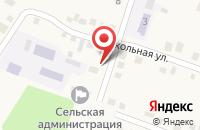Схема проезда до компании Почтовое отделение в Лысогорской