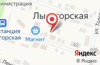 Схема проезда до компании Вита-Плюс в Лысогорской
