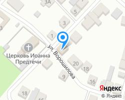 Схема местоположения почтового отделения 606120