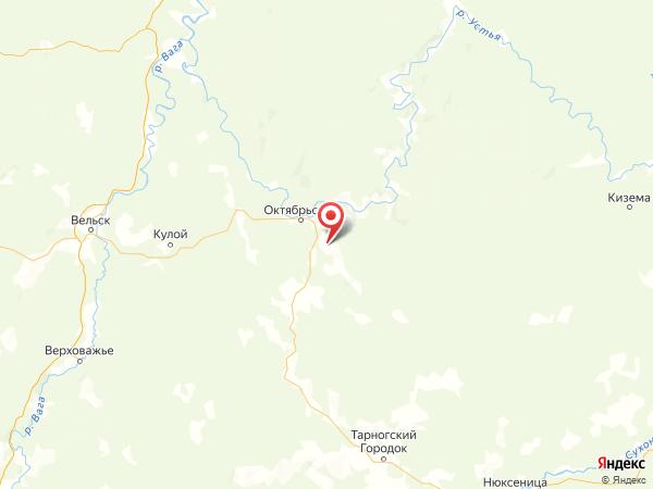 деревня Малый Дор на карте