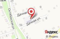 Схема проезда до компании Светлячок в Зольской