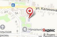Схема проезда до компании Детская музыкальная школа в Зольской