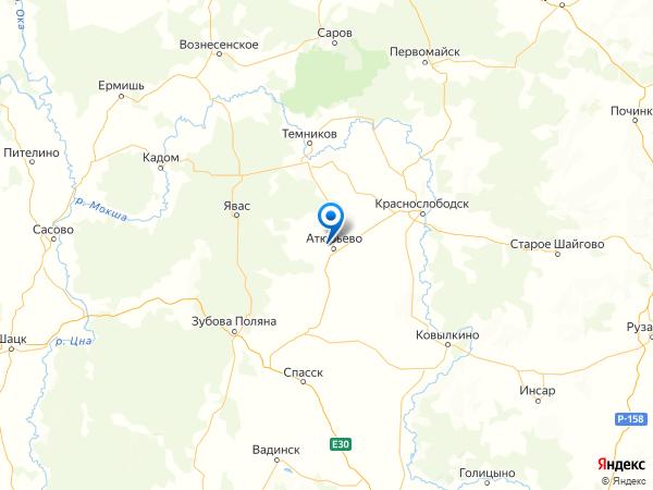 деревня Барановка на карте