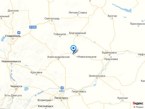 село Китаевское на карте